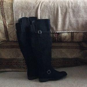 New Tall black boots.